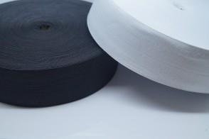 Gummiband weich Gummilitze gewebt leichter Zug, meterware