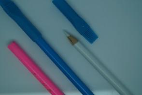 Schneiderkreidestift Kreidestift 17cm, mit Löschbürste