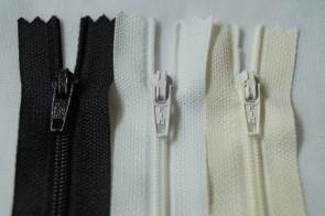 Reißverschluss Plastik Nylon feine Spirale #3, nicht teilbar für Bettwäsche