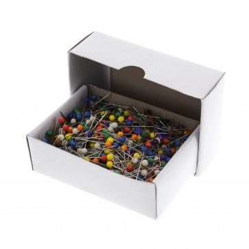 Glaskopf-Stecknadeln, 31x0,60mm, 1000 Stück
