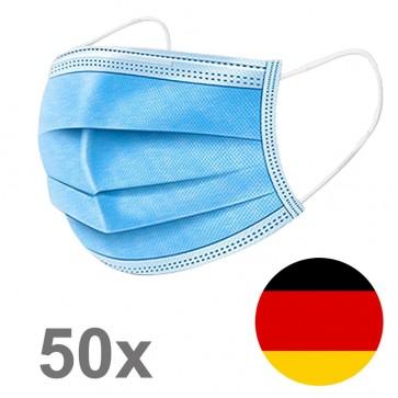 50 Stück Einwegmasken Mundschutzmaske (Stück/0,49€)