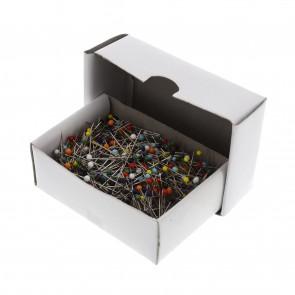 Kunststoffkopf-Stecknadeln, 32x0,60mm, 1000 Stück