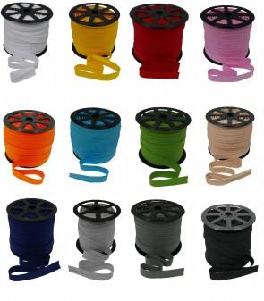 Baumwolle - Schrägband Einfassband Nahtband 18mm Breit gefalzt meterware
