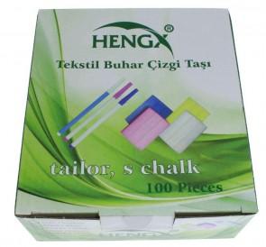 chemische Kreide Schneiderkreide , 100 Stück / Packung