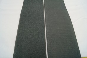 Klettband zum Nähen, Klettverschlussband 100mm Breit, meterware