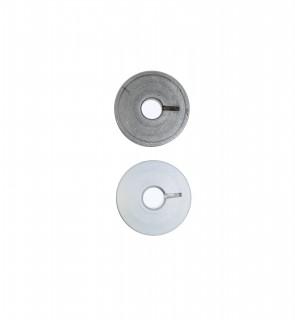 Spulen für Pfaff Nähmaschinen aus Alu mit Schlitz, 9033A