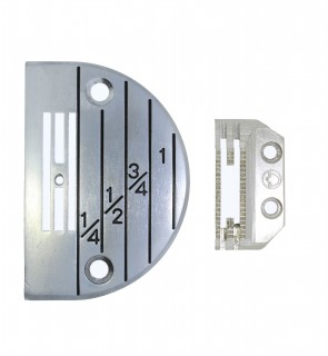 Stichplatte für Nähmaschinen Standard-Industriemaschinen